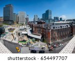 tokyo station. tokyo station is ...   Shutterstock . vector #654497707