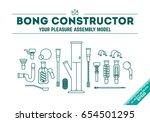 vector illustration poster  of... | Shutterstock .eps vector #654501295
