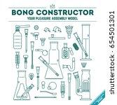 vector illustration poster  of... | Shutterstock .eps vector #654501301