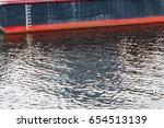 waterline ship displacement... | Shutterstock . vector #654513139