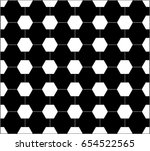 black and white pattern with... | Shutterstock .eps vector #654522565