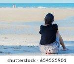 activity at the beach | Shutterstock . vector #654525901