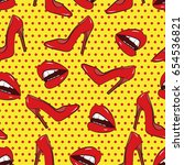 dotted pop art background.