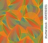 bright tropical seamless... | Shutterstock .eps vector #654550351