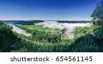 dnister river landscape in...   Shutterstock . vector #654561145