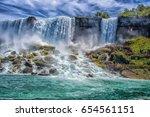 niagara falls   Shutterstock . vector #654561151