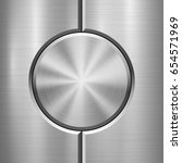 metal technology background... | Shutterstock .eps vector #654571969