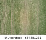 aerial view of agricultural... | Shutterstock . vector #654581281
