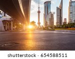 the modern building of the... | Shutterstock . vector #654588511