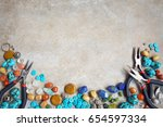 beautiful background for... | Shutterstock . vector #654597334