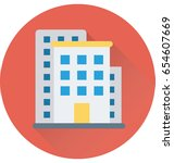 building vector icon | Shutterstock .eps vector #654607669