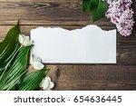wooden background of brown... | Shutterstock . vector #654636445