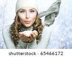 Christmas Girl.winter Woman...