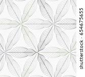 linear vector pattern ... | Shutterstock .eps vector #654675655