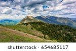 landscape near garmisch...   Shutterstock . vector #654685117
