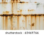 Rusty White Metal Texture