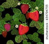 vector illustration of seamless ...   Shutterstock .eps vector #654704755