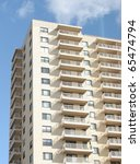 apartment balcony | Shutterstock . vector #65474794
