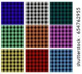 seamless argyle patterns | Shutterstock .eps vector #654762955