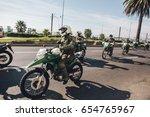 valparaiso  chile   june 01 ... | Shutterstock . vector #654765967