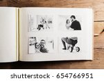 fathers day concept. photo... | Shutterstock . vector #654766951