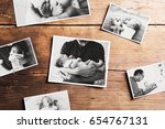 pictures of father and baby ... | Shutterstock . vector #654767131