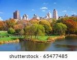 new york city central park in... | Shutterstock . vector #65477485