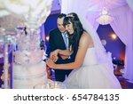 Beautiful Wedding At Her...