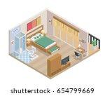 modern isometric  design  ... | Shutterstock .eps vector #654799669