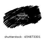 black marker paint texture... | Shutterstock .eps vector #654873301