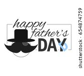 illustration for the father's...   Shutterstock .eps vector #654874759