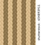 braids seamless vector pattern | Shutterstock .eps vector #654893911