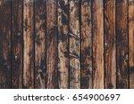 old vintage aged grunge brown... | Shutterstock . vector #654900697