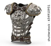 Medieval Armor On The Body In...