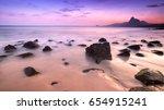 romantic atmosphere in peaceful ... | Shutterstock . vector #654915241