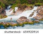 Big Khone Phapheng Waterfall  ...