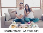 who will win  competition of a... | Shutterstock . vector #654931534
