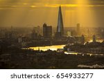 the city of london skyline at... | Shutterstock . vector #654933277