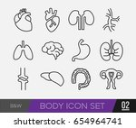 Medical Body Icon  Health And...