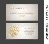 set of vector design templates. ... | Shutterstock .eps vector #654966751