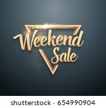 illustration of vector sale... | Shutterstock .eps vector #654990904