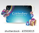 card for congratulations | Shutterstock .eps vector #65503015