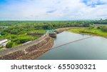 aerial photography pattaya noi... | Shutterstock . vector #655030321
