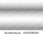 abstract halftone dotted...   Shutterstock .eps vector #655058569