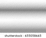abstract halftone dotted... | Shutterstock .eps vector #655058665