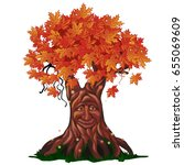 Fantasy Deciduous Tree With...