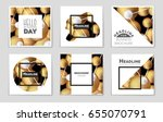 abstract vector layout... | Shutterstock .eps vector #655070791