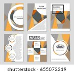 abstract vector layout... | Shutterstock .eps vector #655072219