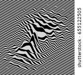 waveform background. dynamic... | Shutterstock .eps vector #655122505