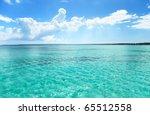 ocean and perfect sky | Shutterstock . vector #65512558